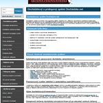 Stará web stránka