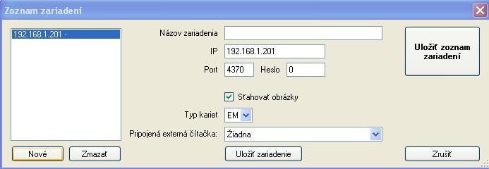 zoznam zariadeni (1)